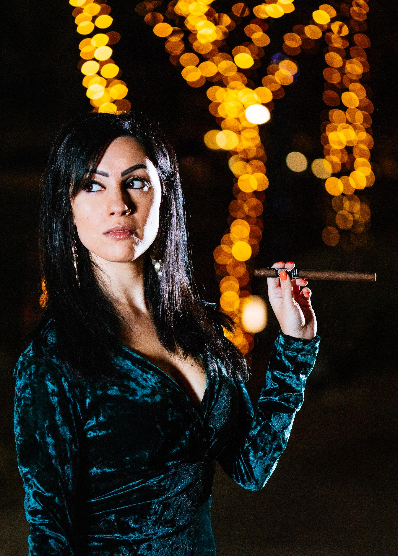 Anita & Cigar-1
