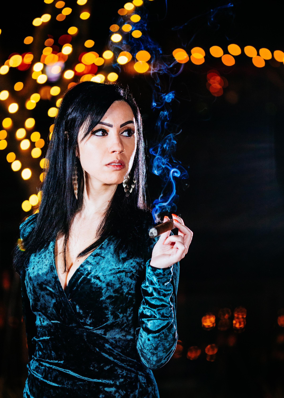 Anita & Cigar-5