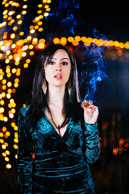 Anita & Cigar-8