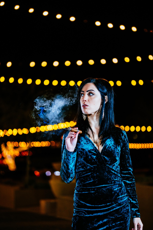 Anita & Cigar-9